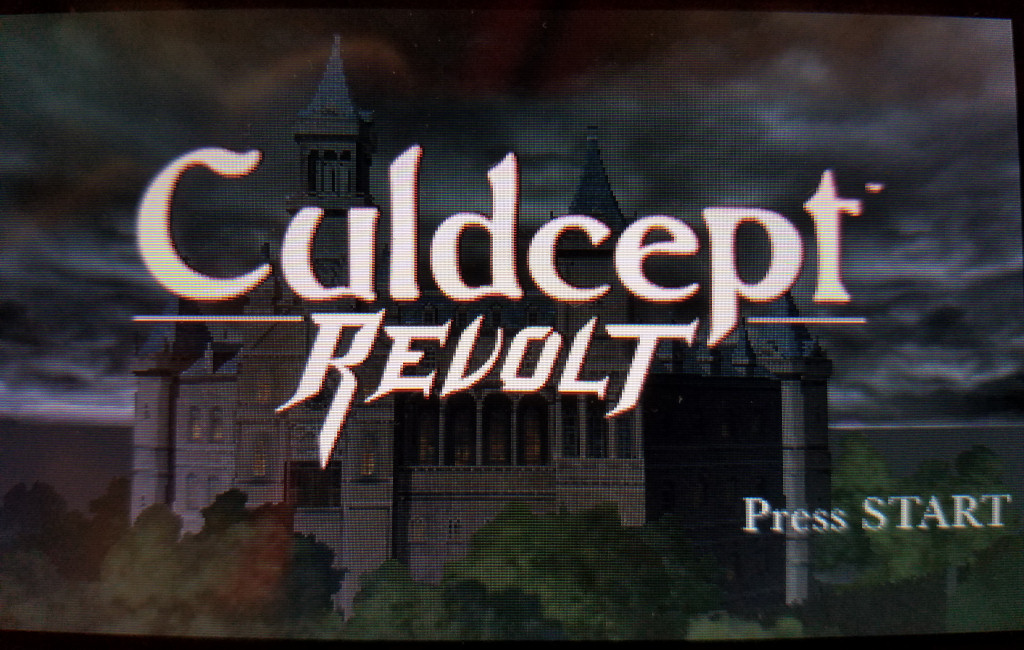 Culdcept Revolt title screen